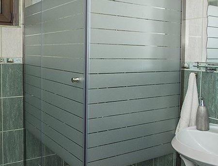 Cabină pentru duș din sticlă